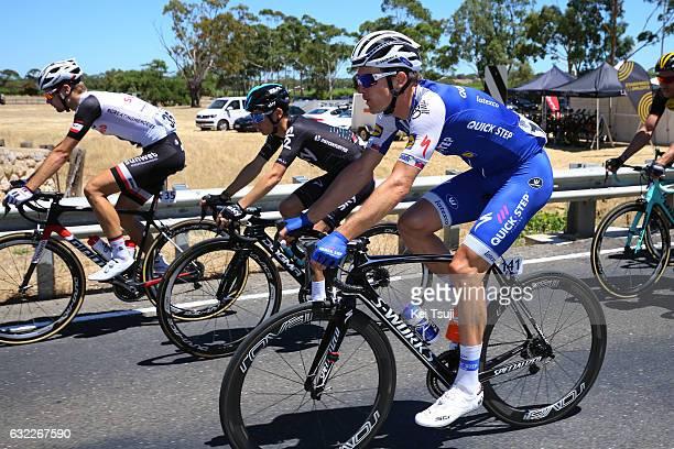19th Santos Tour Down Under 2017/ Stage 5 Men Martin VELITS / Kenny ELISSONDE / McLaren Vale Willunga Hill 382m / BikeExchange Stage / Men / TDU /...