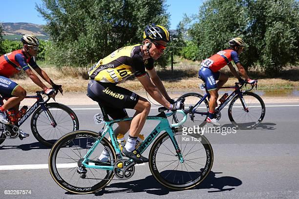 19th Santos Tour Down Under 2017/ Stage 5 Men Robert WAGNER / McLaren Vale Willunga Hill 382m / BikeExchange Stage / Men / TDU / ©Tim De WaeleKT/Tim...
