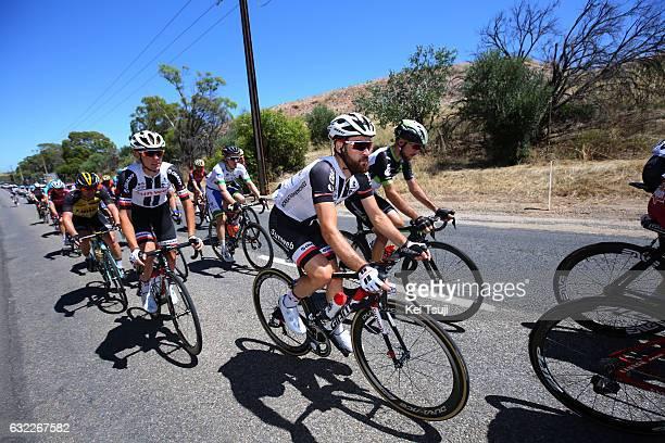 19th Santos Tour Down Under 2017/ Stage 5 Men Simon GESCHKE / Christopher HAMILTON / McLaren Vale Willunga Hill 382m / BikeExchange Stage / Men / TDU...