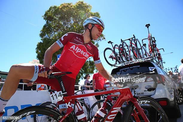 19th Santos Tour Down Under 2017/ Stage 5 Men Start / Maurits LAMMERTINK / McLaren Vale Willunga Hill 382m / BikeExchange Stage / Men / TDU / ©Tim De...
