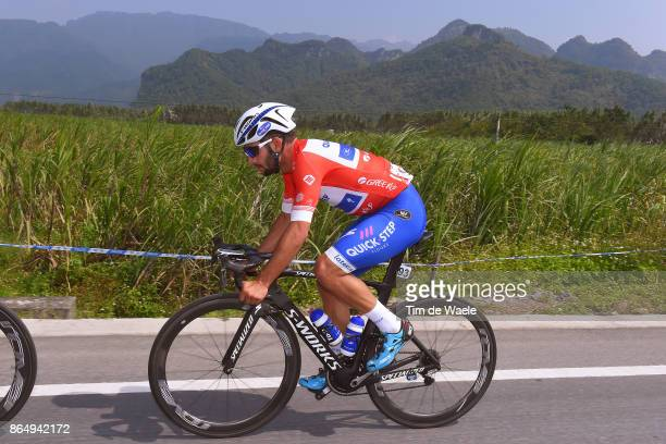 1st Tour of Guangxi 2017 / Stage 4 Fernando GAVIRIA Red Leader Jersey / Nanning Mashan Nongla Scenic Area 472m / Gree Tour of Guangxi / TOG /