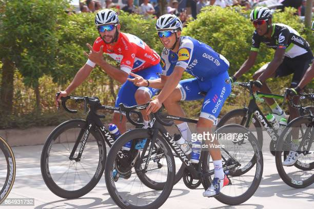 1st Tour of Guangxi 2017 / Stage 4 Julian ALAPHILIPPE / Fernando GAVIRIA Red Leader Jersey / Nanning Mashan Nongla Scenic Area 472m / Gree Tour of...
