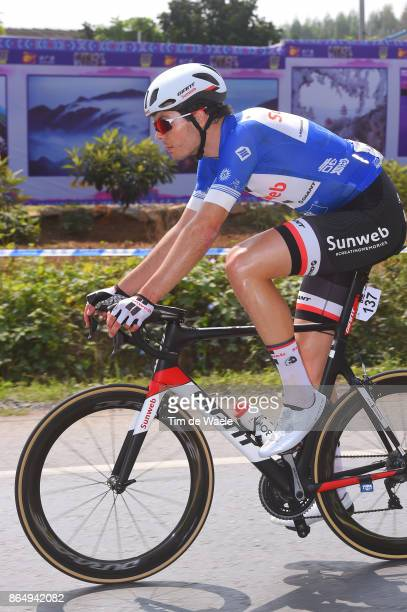 1st Tour of Guangxi 2017 / Stage 4 Max WALSCHEID Blue Sprint Jersey / Nanning Mashan Nongla Scenic Area 472m / Gree Tour of Guangxi / TOG /