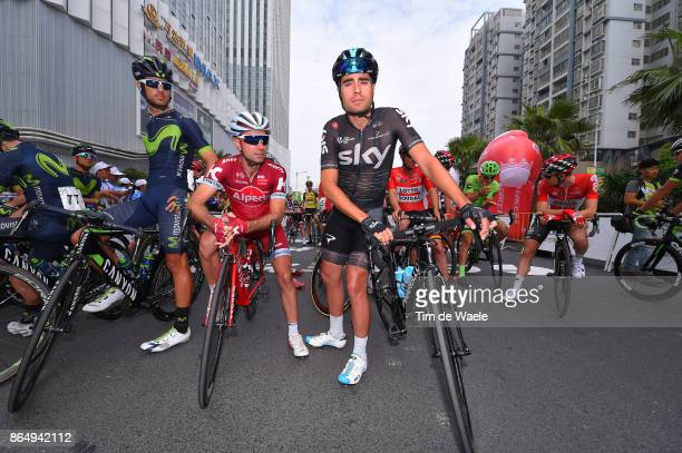 1st Tour of Guangxi 2017 / Stage 4 Mikel LANDA MEANA / Angel VICIOSO / Nanning Mashan Nongla Scenic Area 472m / Gree Tour of Guangxi / TOG /