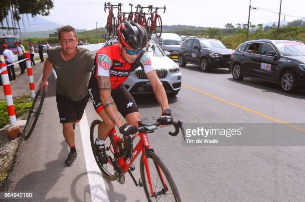1st Tour of Guangxi 2017 / Stage 4 Nicolas ROCHE / Geo VAN OUDENHOVE Mechanic / BMC Racing Team / Mechanical Problem / Nanning Mashan Nongla Scenic...