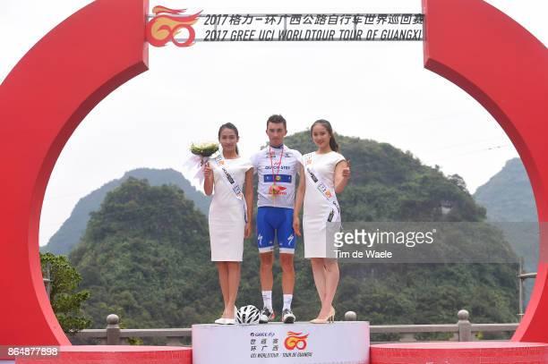 1st Tour of Guangxi 2017 / Stage 4 Podium / Julian ALAPHILIPPE White Best Young Rider Jersey / Celebration / Nanning Mashan Nongla Scenic Area 472m /...