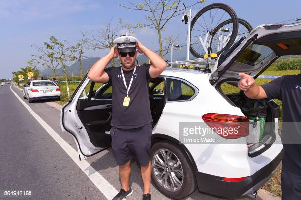 1st Tour of Guangxi 2017 / Stage 4 Team Sky / Mechanic / Police / Nanning Mashan Nongla Scenic Area 472m / Gree Tour of Guangxi / TOG /