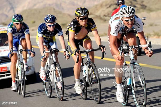 1st Tour of Oman 2010 / Stage 3 Laurent MANGEL / Lieuwe WESTRA / Gatis SMUKULIS / Saifat Ash Shiekh Qurayyat / Rit Etape / Ronde / Tim De Waele |...