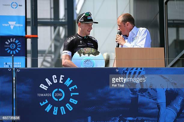 1st Toward Zero Race Melbourne / Cadel Evans Albert Park GP/ Men Podium / Sam BENNET / Albert Park F1 GP Circuit Albert Park F1 GP Circuit / / Men /...