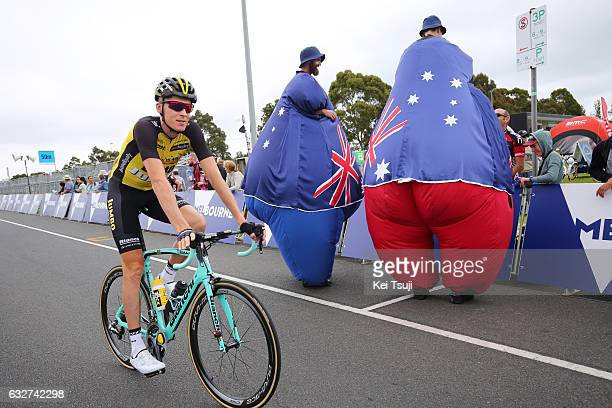 1st Toward Zero Race Melbourne / Cadel Evans Albert Park GP/ Men Start / Robert GESINK / Albert Park F1 GP Circuit Albert Park F1 GP Circuit / / Men...