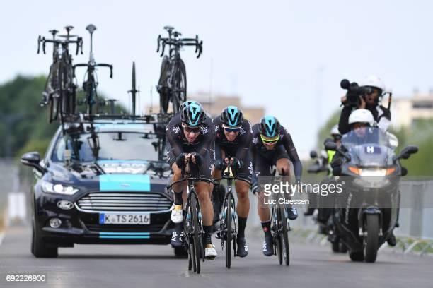 1st Velon Hammer Series 2017 / Day 3 Elia VIVIANI / Danny VAN POPPEL / Team SKY / SittardGeleen SportZone Limburg / Team Time Trial / TTT / Hammer...
