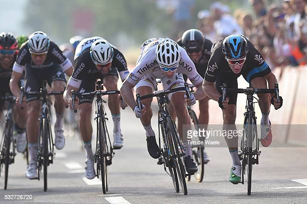 1th Abu Dhabi Tour 2015 / Stage 2 Arrival Sprint / VIVIANI Elia / SAGAN Peter / SABATINI Fabio / Yas Marina Circuit Yas Mall / The Capital Stage /...