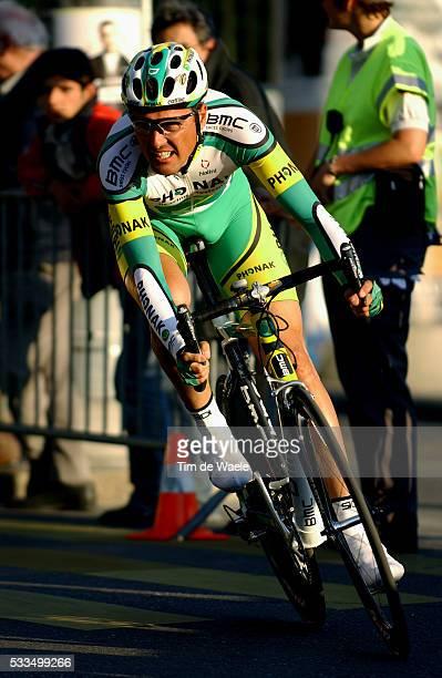 Cycling 2004 Tour of Romandie Alex Zuelle during the prologue Cyclisme Tour de Romandie 2004 Alex Zuelle dans le prologue