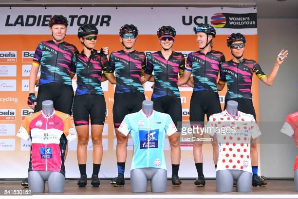 20th Boels Rental Ladies Tour / Stage 4 Podium / Team Canyon SRAM Racing / Mieke KROGER / Elena CECCHIN / Lisa BRENNAUER / Alexis RYAN / Hannah...