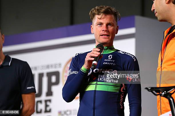 25th Japan Cup 2016 / Team Presentation Christian MEIER / Japan Cup / Tim De WaeleKT/Tim De Waele/Corbis via Getty Images
