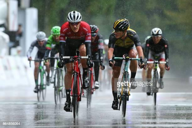 26th Japan Cup 2017 Cycle Road Race 2017 Arrival / Sprint / Jasper STUYVEN / Enrico BATTAGLIN / Benjamin HILL / Danilo WYSS / Utsunomiya Utsunomiya /...