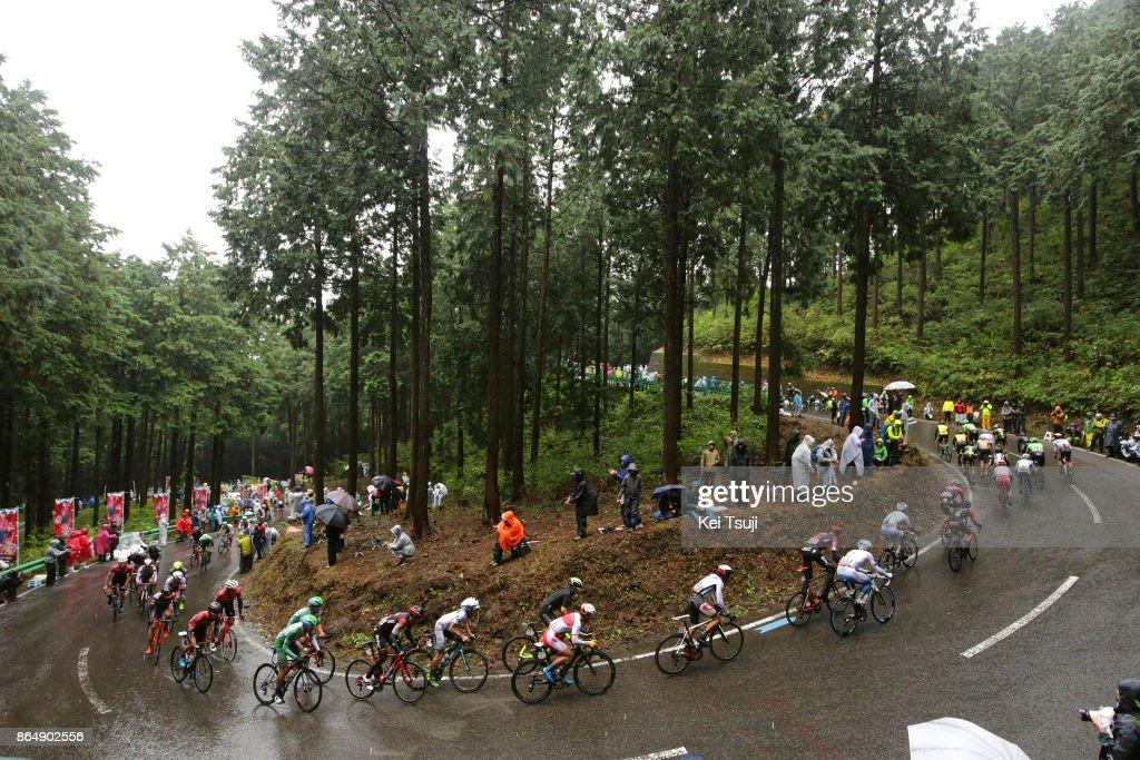 26th Japan Cup 2017 Cycle Road Race 2017 Peloton / Landscape / Utsunomiya - Utsunomiya (144,2km)/ Race shortened due to bad weather / Utsunomiya - Utsunomiya (103km)/ Japan Cup /