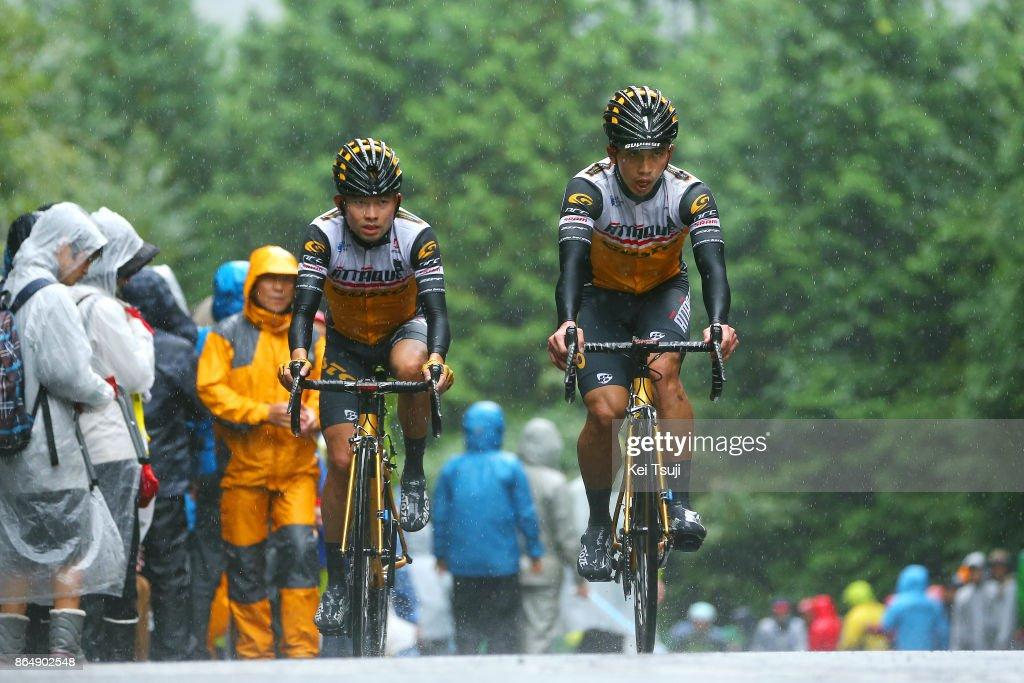 26th Japan Cup 2017 Cycle Road Race 2017 Shao Hsuan LU (TPE)/ Wen Chung HUANG (TPE)/ Utsunomiya - Utsunomiya (144,2km)/ Race shortened due to bad weather / Utsunomiya - Utsunomiya (103km)/ Japan Cup /