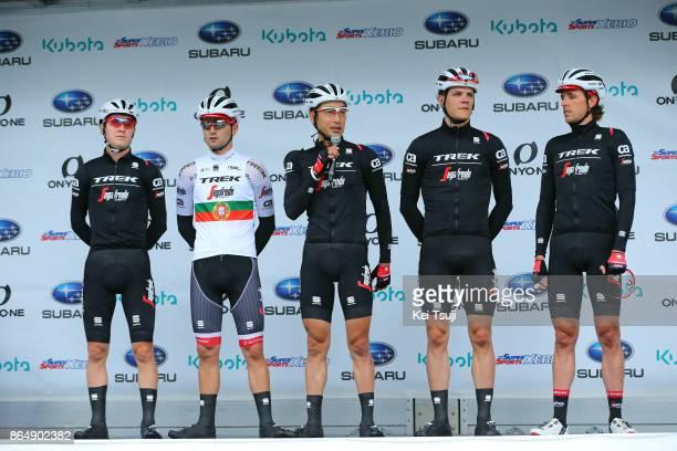 26th Japan Cup 2017 Cycle Road Race 2017 Start / Team Trek Segafredo / Alberto CONTADOR VELASCO / Ruben GUERREIRO / Fumiyuki BEPPU / Koen DE KORT /...