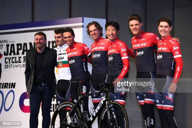 26th Japan Cup 2017 / Team Presentation Team Trek Segafredo / Alberto CONTADOR VELASCO / Ruben GUERREIRO / Fumiyuki BEPPU / Koen DE KORT / Gregory...
