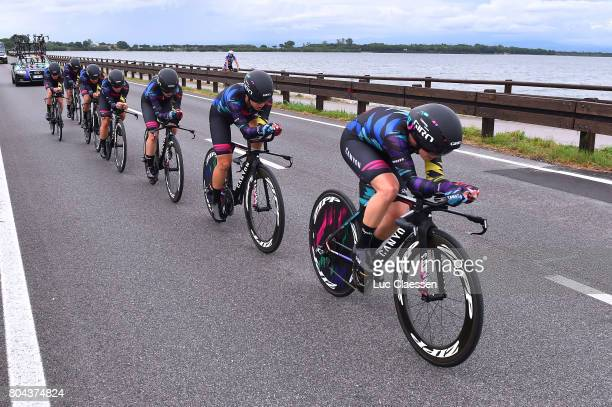 28th Tour of Italy 2017 / Women / Stage 1 Tiffany CROMWELL / Hannah BARNES / Elena CECCHINI / Barbara GUARISCHI / Alexis RYAN / Leah THORVILSON/...