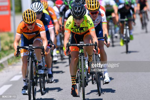 28th Tour of Italy 2017 / Women / Stage 4 Karol Ann CANUEL / Anna TREVISI / Occhiobello Occhiobello / Women / Giro Rosa /
