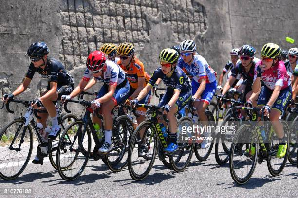 28th Tour of Italy 2017 / Women / Stage 9 Claudia LICHTENBERG / Clara KOPPENBURG / Karol Ann CANUEL / Amanda SPRATT / Annemiek VAN VLEUTEN Points...