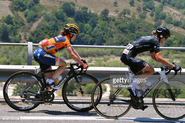 28th Tour of Italy 2017 / Women / Stage 9 Karol Ann CANUEL / Claudia LICHTENBERG / Palinuro Polla 444m / Women / Giro Rosa /