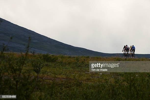 2nd Arctic Race Norway 2014 / Stage 2 Illustration Illustratie/ Landscape Paysage Landschap/ Honningsvag Alta Rit Etape /Tim De Waele