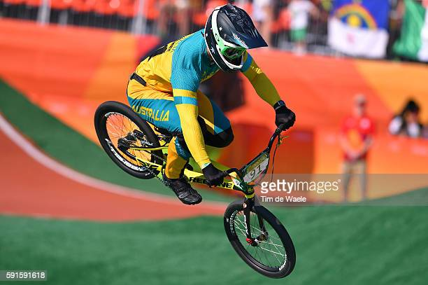31st Rio 2016 Olympics / BMX Cycling Men Seeding Run Sam WILLOUGHBY / Olympic Bmx Centre/ Summer Olympic Games /