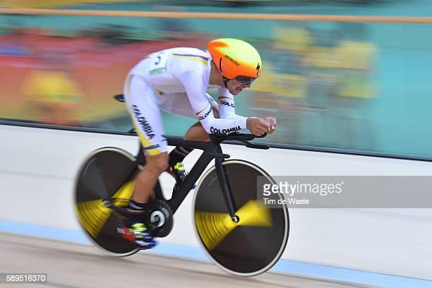 31st Rio 2016 Olympics / Track Cycling Men's Omnium Individual Pursuit 26 Fernando GAVIRIA RENDON / Rio Olympic Velodrome / Summer Olympic Games /