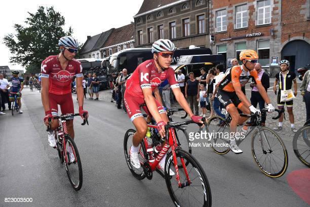 38th Tour Wallonie 2017 / Stage 5 Start / Sven ERIK BYSTROM / Viacheslav KUZNETSOV / Chievres Thuin / VOO / TW /