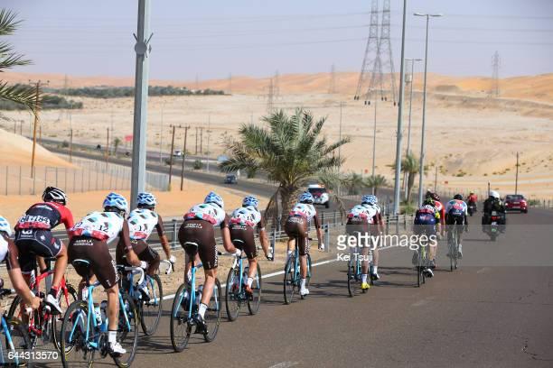 3rd Abu Dhabi Tour 2017 / Stage 1 Axel DOMONT / Domenico POZZOVIVO / Ben GASTAUER / Romain BARDET / Mathias FRANK / Christophe RIBLON / Baynounah...