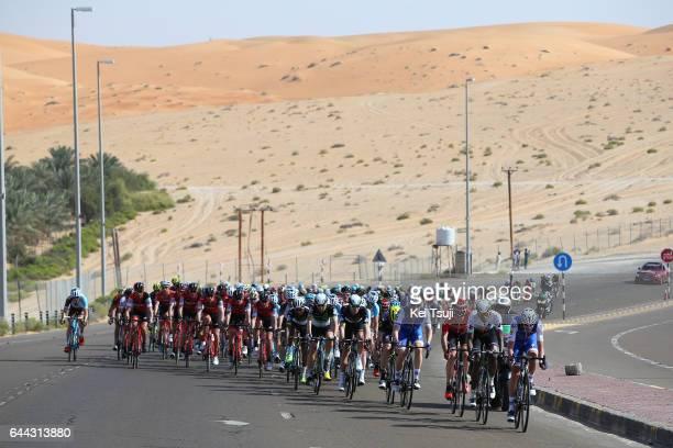 3rd Abu Dhabi Tour 2017 / Stage 1 Pieter SERRY / Daniel TEKLEHAIMANOT / Sander ARMEE / Baynounah Educational Complex Madinat Zayed/ Ride to Abu Dhabi...