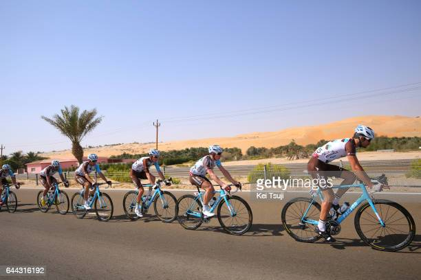 3rd Abu Dhabi Tour 2017 / Stage 1 Romain BARDET / Ben GASTAUER / Cyril GAUTIER / Axel DOMONT / Christophe RIBLON / Baynounah Educational Complex...
