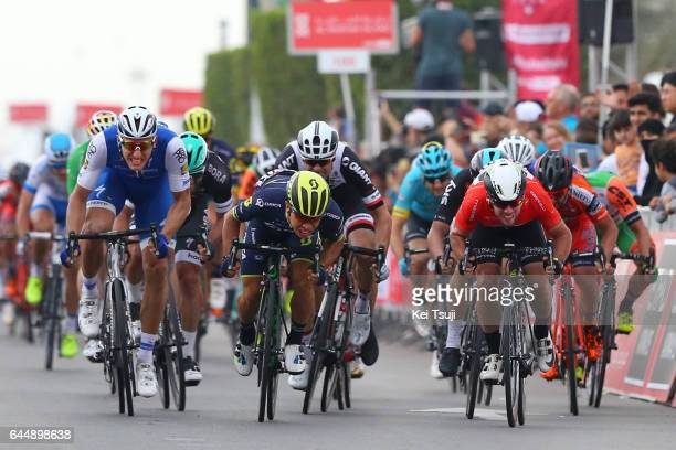3rd Abu Dhabi Tour 2017 / Stage 2 Arrival / Caleb EWAN / Marcel KITTEL / Mark CAVENDISH Red Leader Jersey / Phil BAUHAUS / Abu DhabiAl Maryah Island...