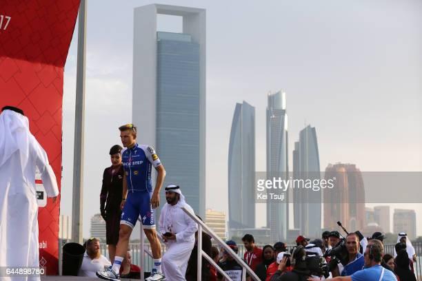 3rd Abu Dhabi Tour 2017 / Stage 2 Podium / Marcel KITTEL / Abu DhabiAl Maryah Island Abu DhabiBig Flag / Ride to Abu Dhabi / Nation Towers Stage /