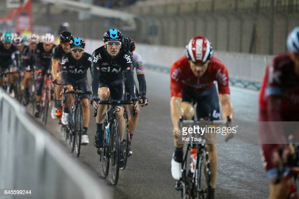 3rd Abu Dhabi Tour 2017 / Stage 4 Elia VIVIANI / Kenny ELISSONDE / Yas Marina Circuit Yas Marina Circuit / Ride to Abu Dhabi / Yas Island Stage /