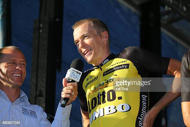3rd Cadel Evans Great Ocean Road Race 2017 / Teams Presentation Robert GESINK / Steampacket Gardens / Belmont / Great Ocean Road Race / ©Tim De...