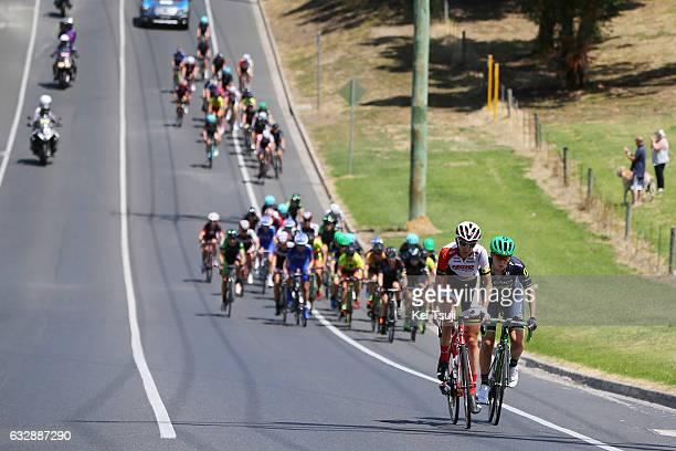 3rd Cadel Evans Great Ocean Road Race 2017 / Women Lucy KENNEDY / Gracie ELVIN / Geelong Waterfront Geelong Waterfront / Women / Deakin University /...