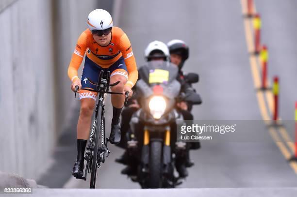 3rd Ladies Tour Of Norway 2017 / Prologue Amalie DIEDERIKSEN / Halden Halden / Individual Time Trial / ITT / Women / TON /