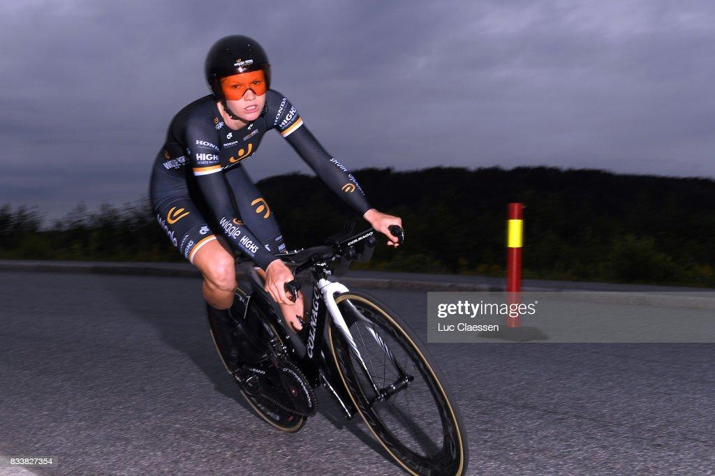 3rd Ladies Tour Of Norway 2017 / Prologue Jolien DHOORE (BEL)/ Halden - Halden (3,4km) / Individual Time Trial / ITT / Women / TON /