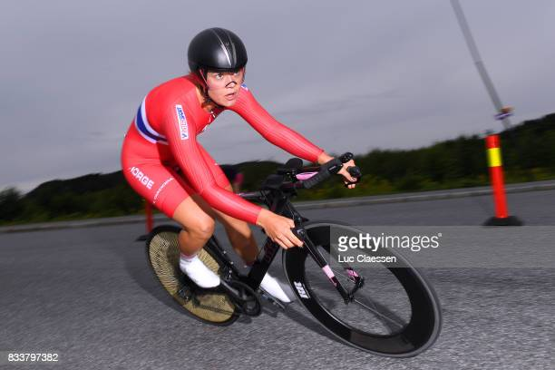 3rd Ladies Tour Of Norway 2017 / Prologue Line Marie GULLIKSEN / Halden Halden / Individual Time Trial / ITT / Women / TON /