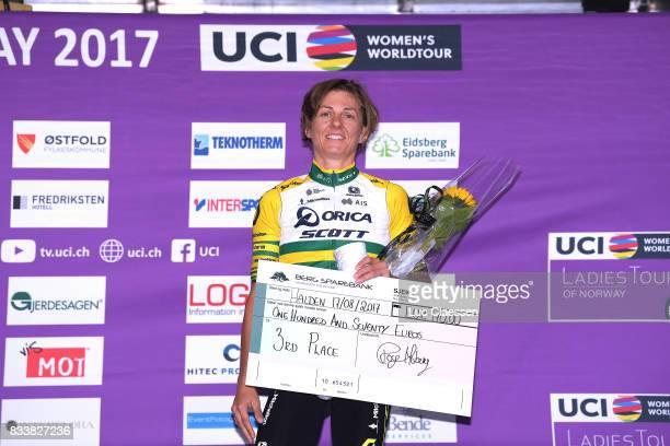 3rd Ladies Tour Of Norway 2017 / Prologue Podium / Katrin GARFOOT / Celebration / Halden Halden / Individual Time Trial / ITT / Women / TON /