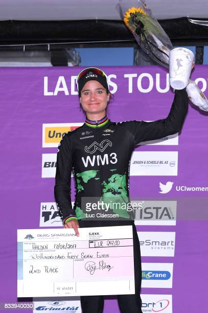 3rd Ladies Tour Of Norway 2017 / Prologue Podium / Marianne VOS Celebration / Halden Halden / Individual Time Trial / ITT / Women / TON /