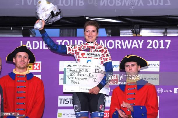 3rd Ladies Tour Of Norway 2017 / Prologue Podium / Vita HEINE Best Norway Rider /Celebration / Halden Halden / Individual Time Trial / ITT / Women /...
