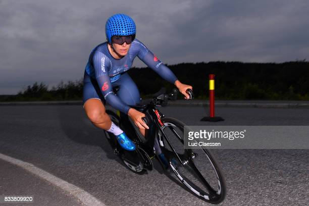 3rd Ladies Tour Of Norway 2017 / Prologue Sara MUSTONEN / Halden Halden / Individual Time Trial / ITT / Women / TON /