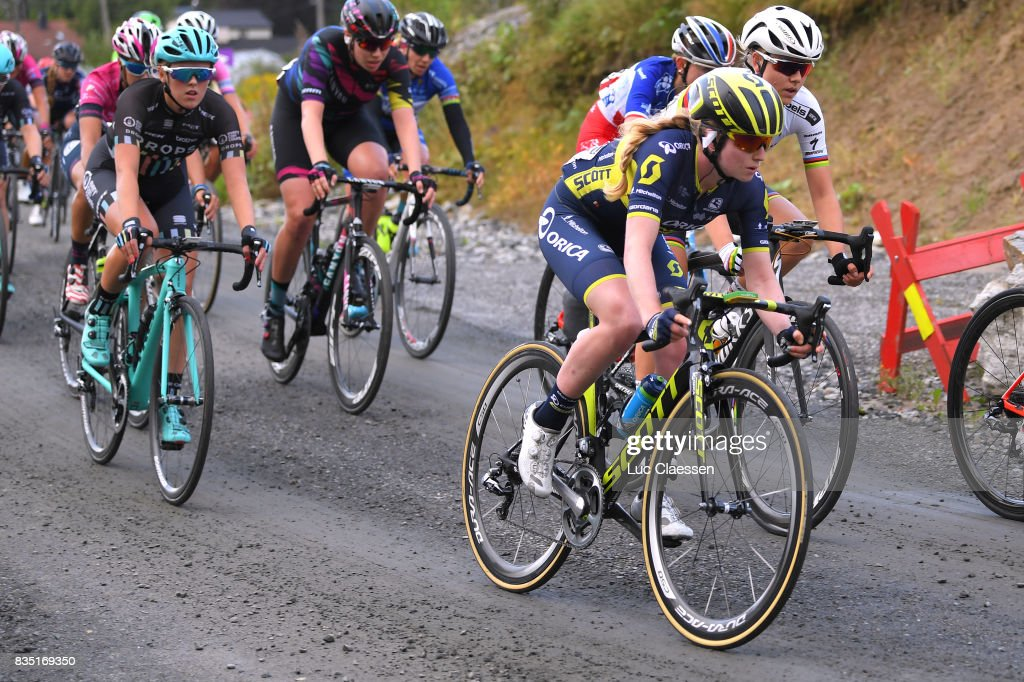 3rd Ladies Tour Of Norway 2017 / Stage 1 Alexandra MANLY (AUS) / Gravelroad/ Halden - Mysen (105km) / Women / TON /