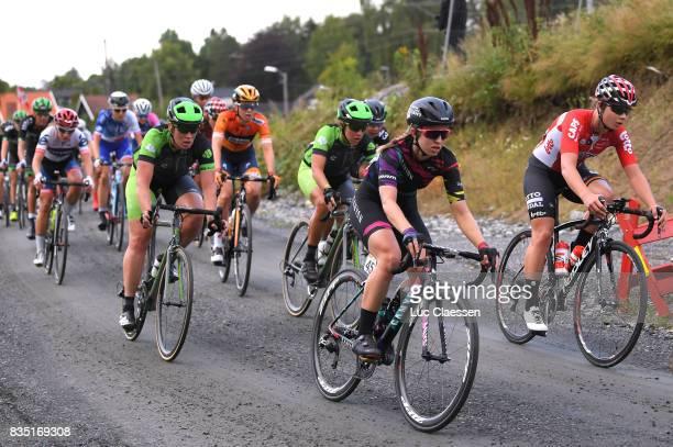 3rd Ladies Tour Of Norway 2017 / Stage 1 Alexis RYAN / Lotte KOPECKY / Gravelroad/ Halden Mysen / Women / TON /