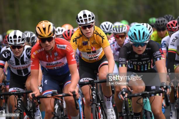 3rd Ladies Tour Of Norway 2017 / Stage 1 Ellen VAN DIJK Yellow Leader Jersey / Halden Mysen / Women / TON /